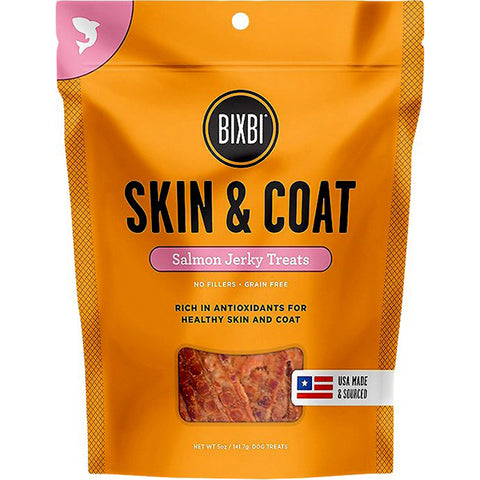 Jerky Skin & Coat Salmon Dog Treats