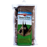 Sleep-E-Tent Hanging Plush Fabric & Fleece Small Animal Bed & Hideout with Zipper Opening