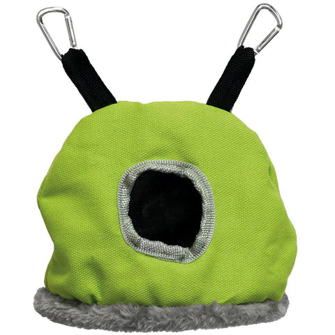 Snuggle Sack Hanging Fabric & Fleece Bird Hideout