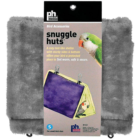 Snuggle Hut Hanging Fabric & Fleece Bird Hideout