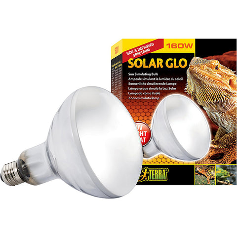 Solar Glo Mercury Vapor Bulb Reptile UV Light & Heat Emitter 160 Watt