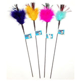 Sparkling Tickler Feather Wand Toy