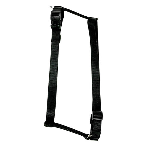 Standard Adjustable Nylon Harness Black