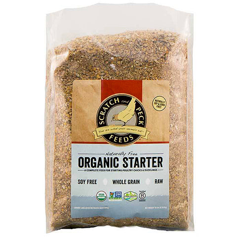 Naturally Free Organic Starter Feed for Chicks & Ducklings