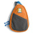 Stash Bag Portable Dog Waste Bag Dispenser Orange