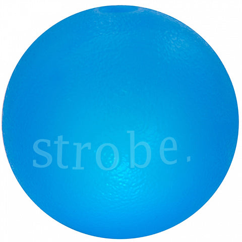 Orbee-Tuff LED Strobe Ball Ultra Durable Dog Toy Blue