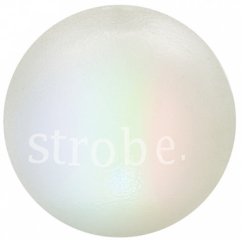 Orbee-Tuff LED Strobe Ball Ultra Durable Dog Toy Glow in the Dark