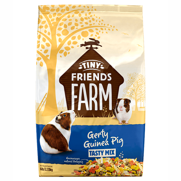 Tiny Friends Farm Gerty Guinea Pig Food Tasty Mix