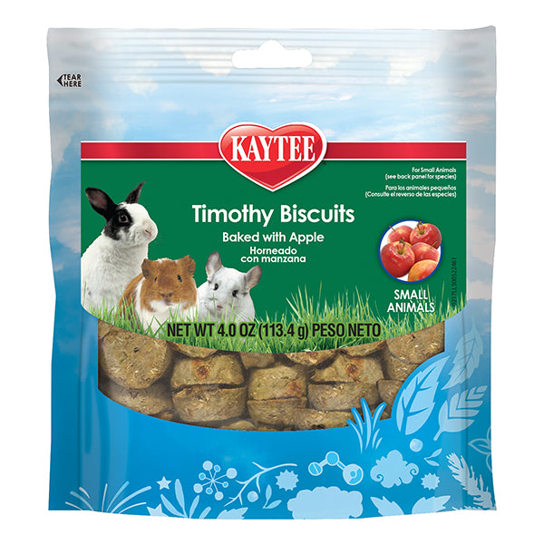 Timothy Biscuits Baked with Apple Small Animal Treats