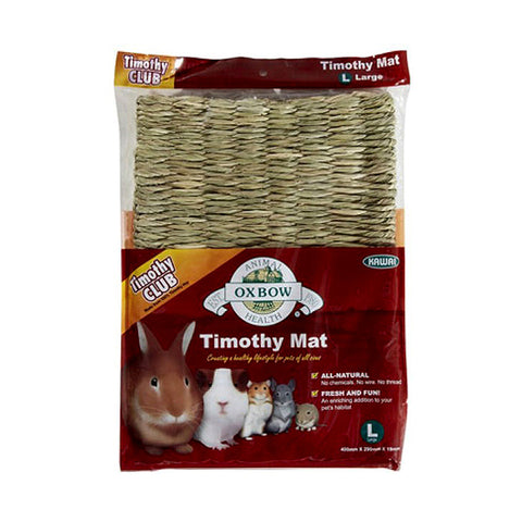 Timothy Club Timothy Mat Woven Small Animal Habitat Addition