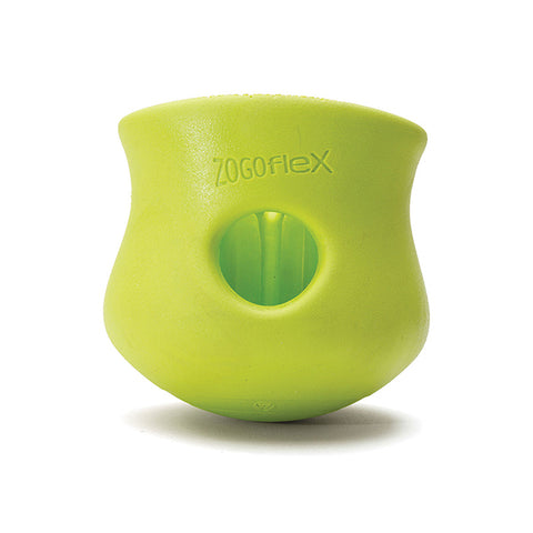 Toppl Treat-Dispensing Dog Toy Green