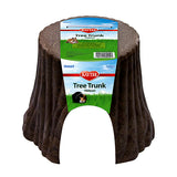 Natural Tree Trunk Wood & Plastic Small Animal Hideout