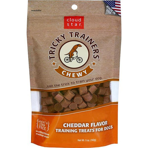 Tricky Trainers Chewy Cheddar Flavor Dog Treats