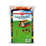 Tropical Fiddle Sticks Flexible Multicolor Small Animal Hideout