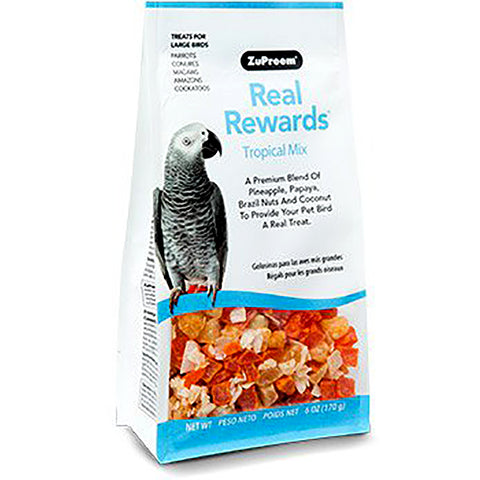 Real Rewards Tropical Mix Large Bird Treats