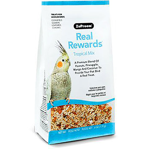Real Rewards Tropical Mix Medium Bird Treats