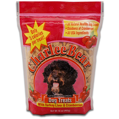 Turkey Liver & Cranberries Flavor Dog Treats