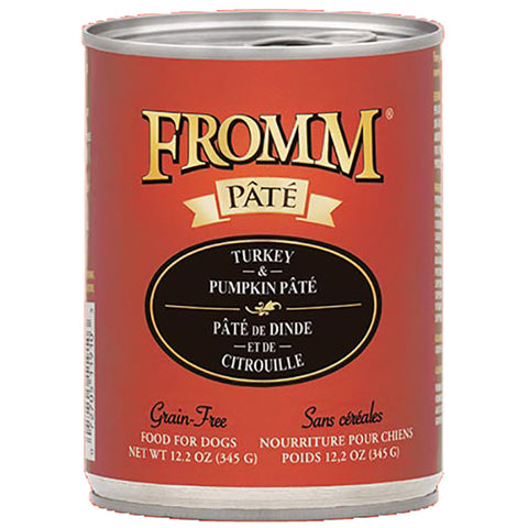 Turkey & Pumpkin Pate Grain-Free Wet Canned Dog Food