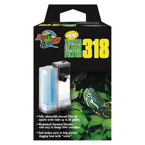 Turtle Clean 318 Submersible Aquatic Turtle Filter