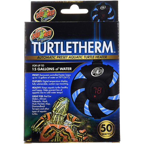 TurtleTherm Automatic Preset Aquatic Turtle Heater