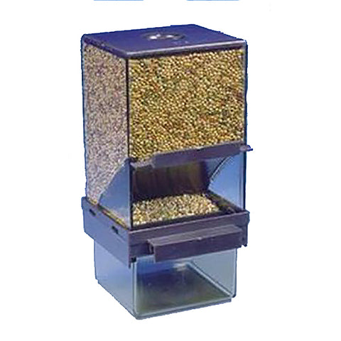 Vacation Bird Feeder with Catch Tray