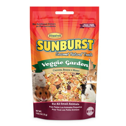 Sunburst Veggie Garden Gourmet Small Animal Treats