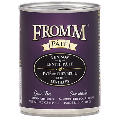Venison & Lentil Pate Grain-Free Wet Canned Dog Food