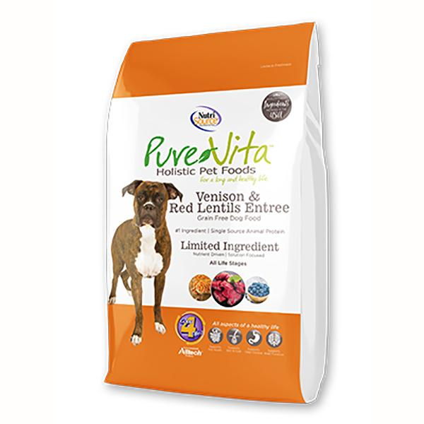 Venison & Red Lentils Entree Grain-Free Dry Dog Food