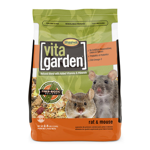Vita Garden Rat & Mouse Blend Small Animal Food