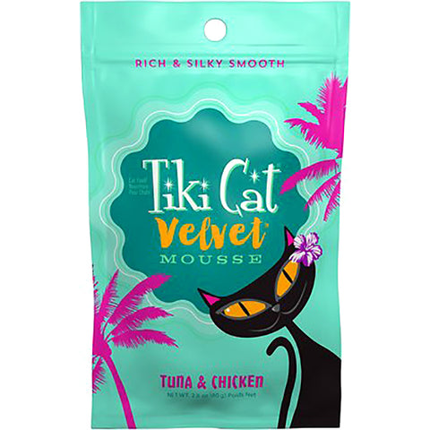 Velvet Mousse Tuna & Chicken in Broth Grain-Free Wet Pouch Cat Food
