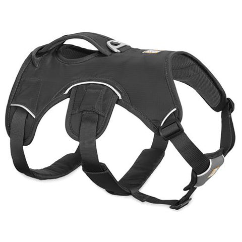 Web Master Supportive Multi-Use Dog Harness Gray