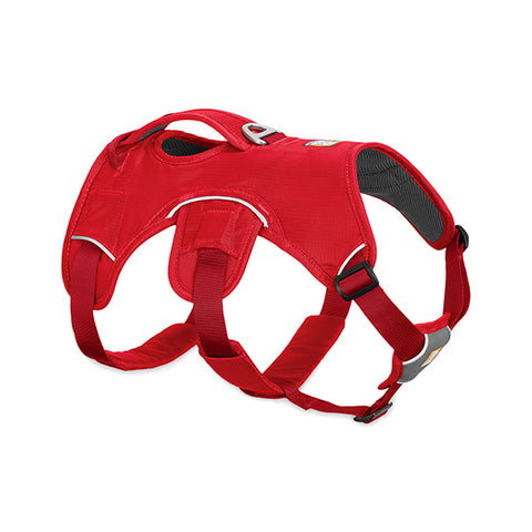 Web Master Supportive Multi-Use Dog Harness Red