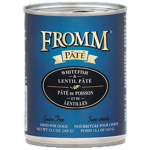 Whitefish & Lentil Pate Grain-Free Wet Canned Dog Food