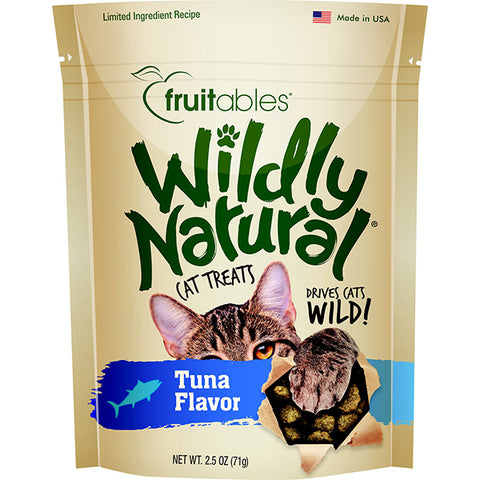 Wildly Natural Tuna Flavor Crunchy Cat Treats