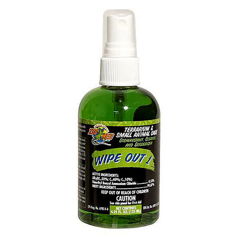 Wipe Out 1 Terrarium & Small Animal Cage Disinfectant, Cleanser & Deodorizer