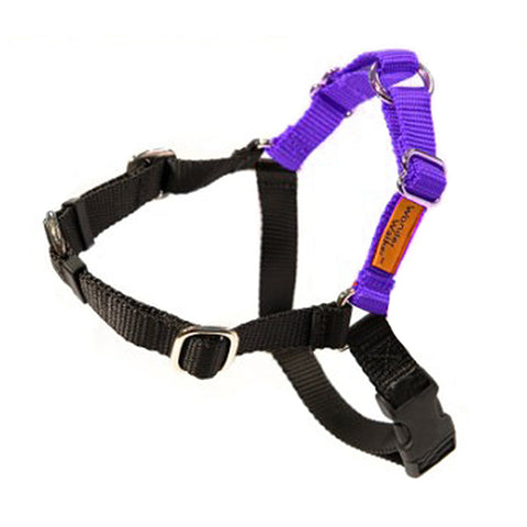 Wonder Walker No-Pull Dog Body Halter Purple