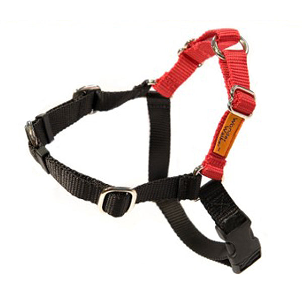Wonder Walker No-Pull Dog Body Halter Red