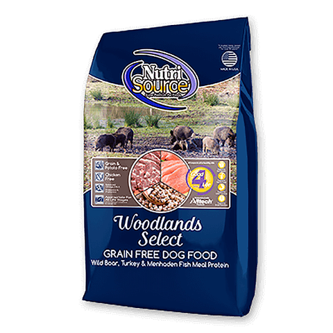 Woodlands Select Grain-Free Boar & Turkey Dry Dog Food