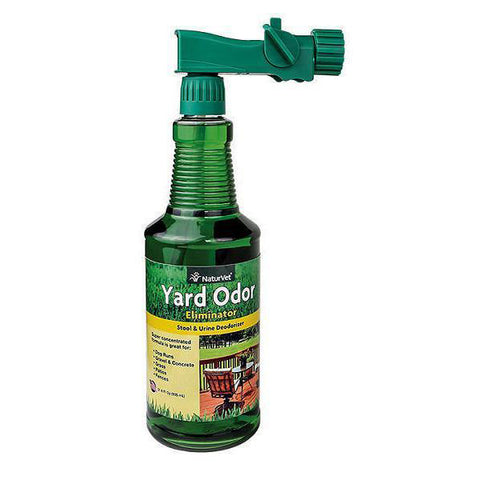 Yard Odor Eliminator Stool & Urine Outdoor Deodorizer Spray with Garden Hose Attachment