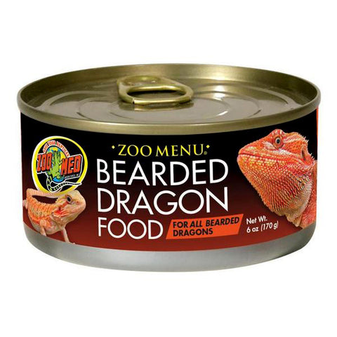 Zoo Menu Adult Bearded Dragon Wet Canned Food
