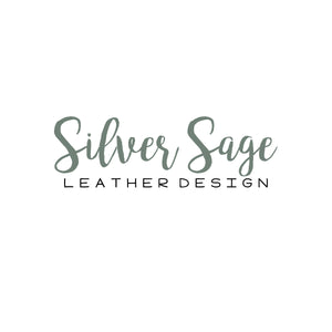 Silver Sage  Leather Design