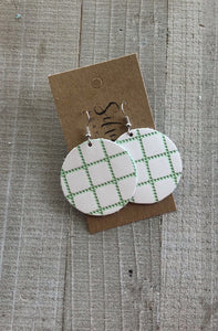 Spring Green Quilted Circles