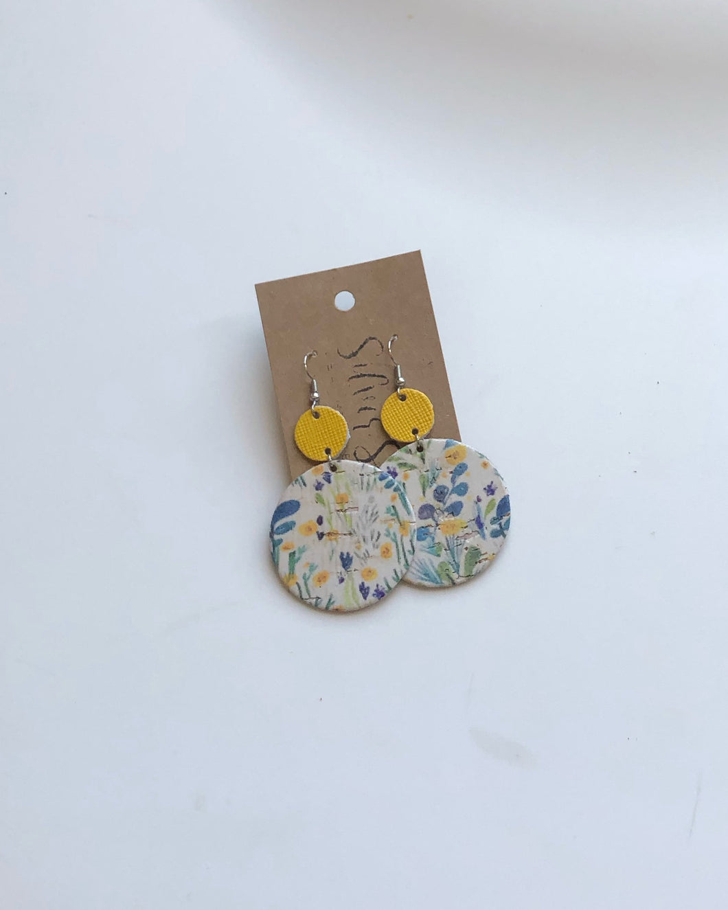 Summer Floral Cork & Yellow Enso's