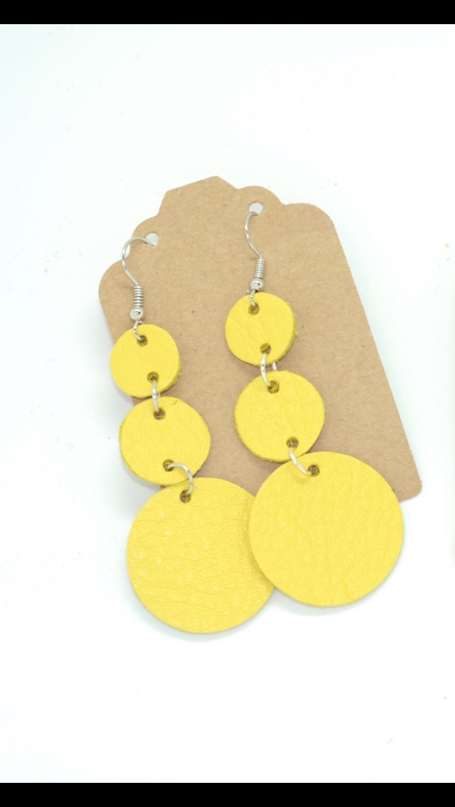Sun Bright Yellow Triple Drops