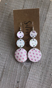 Spring Polka Dot Triple Drop