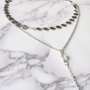 Ayla Lariat - Moondrop Jewelry