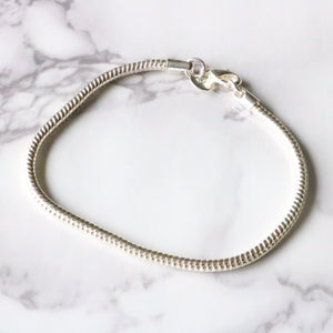 Simple Silver Bracelet - Moondrop Jewelry