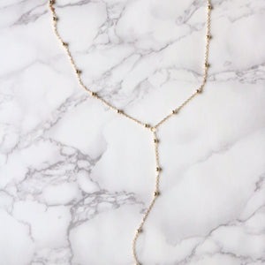 Drops Lariat - Moondrop Jewelry