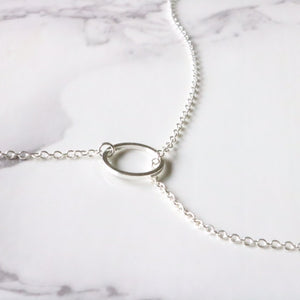 Loophole Lariat - Moondrop Jewelry