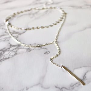 Royal Drop Lariat - Moondrop Jewelry